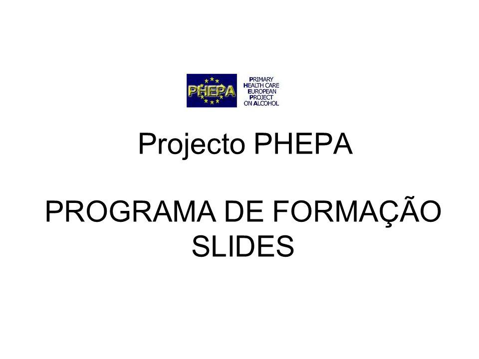 PROGRAMA DE FORMAÇÃO SLIDES
