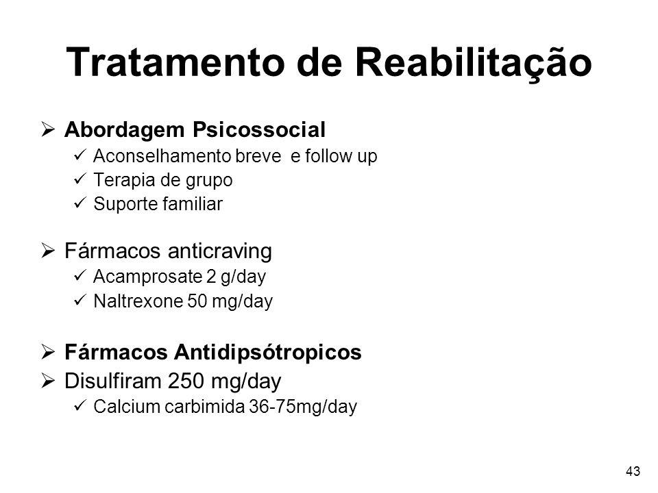 Tratamento de Reabilitação