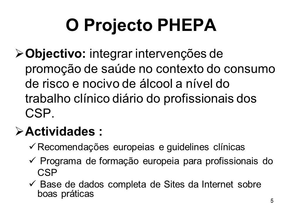 O Projecto PHEPA