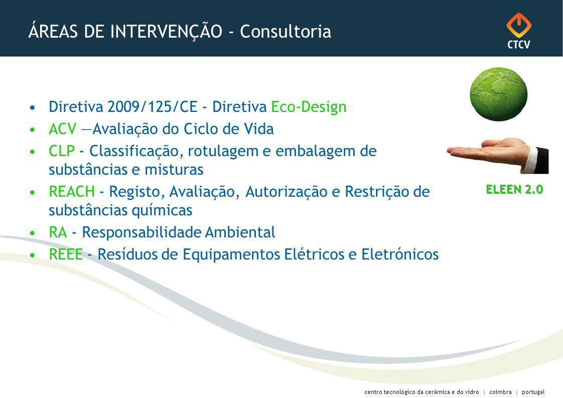 ÁREAS DE INTERVENÇÃO - Consultoria