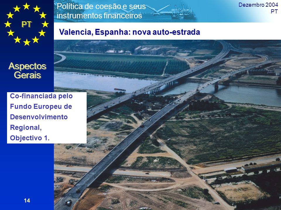 Valencia, Espanha: nova auto-estrada