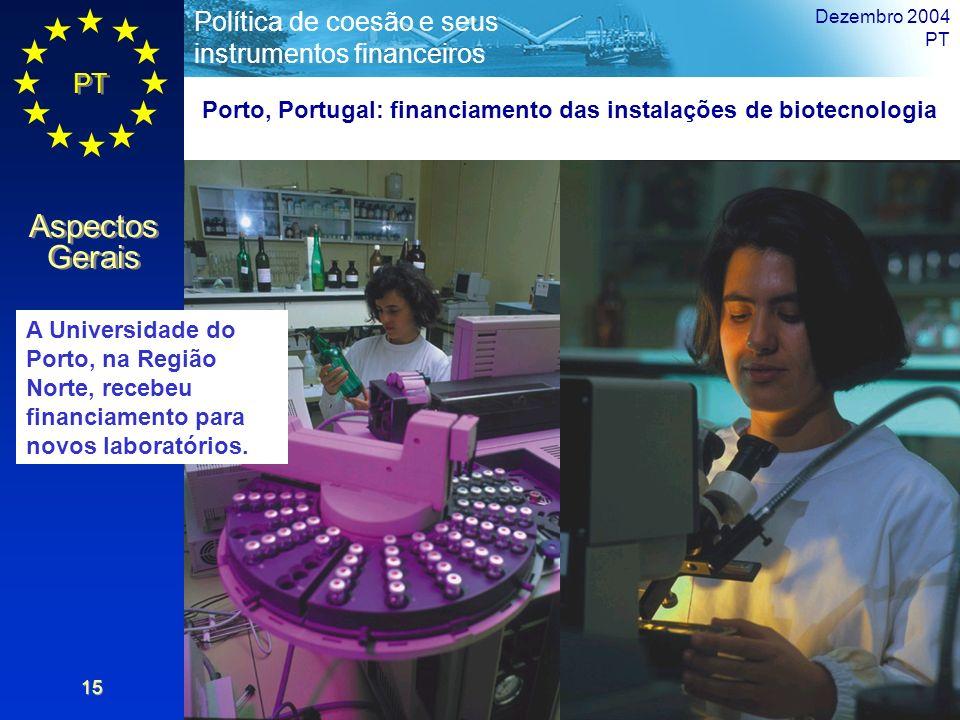Porto, Portugal: financiamento das instalações de biotecnologia