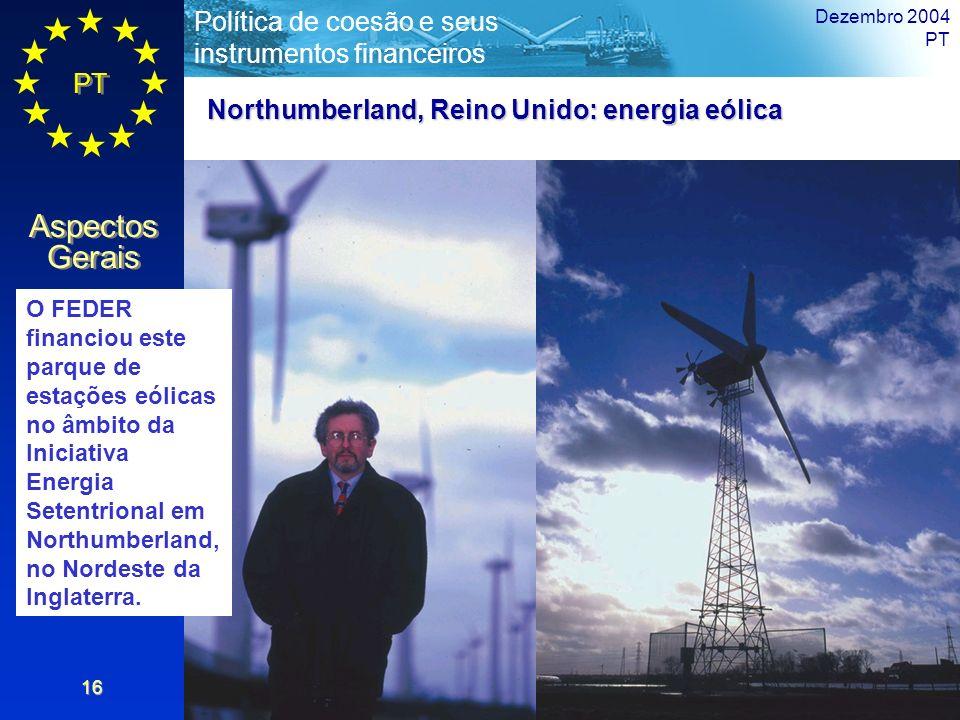 Northumberland, Reino Unido: energia eólica