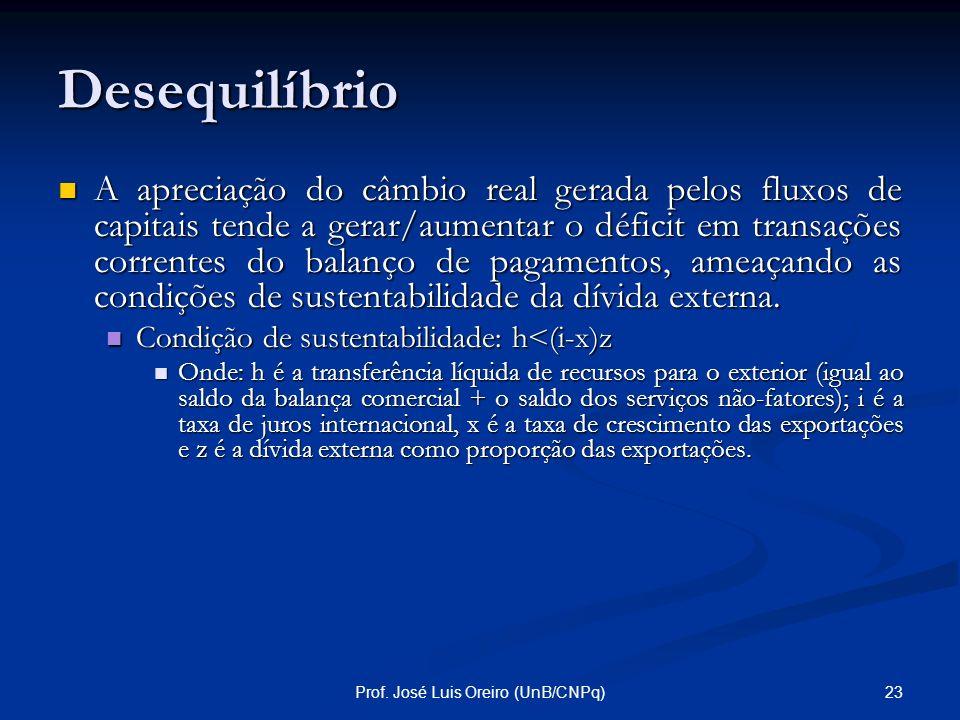 Prof. José Luis Oreiro (UnB/CNPq)