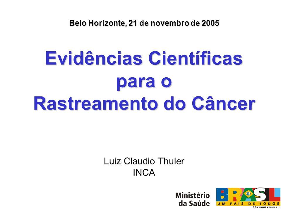Evidências Científicas para o Rastreamento do Câncer