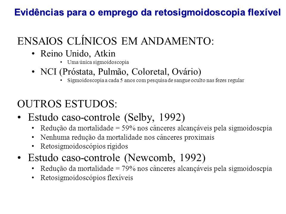 ENSAIOS CLÍNICOS EM ANDAMENTO: