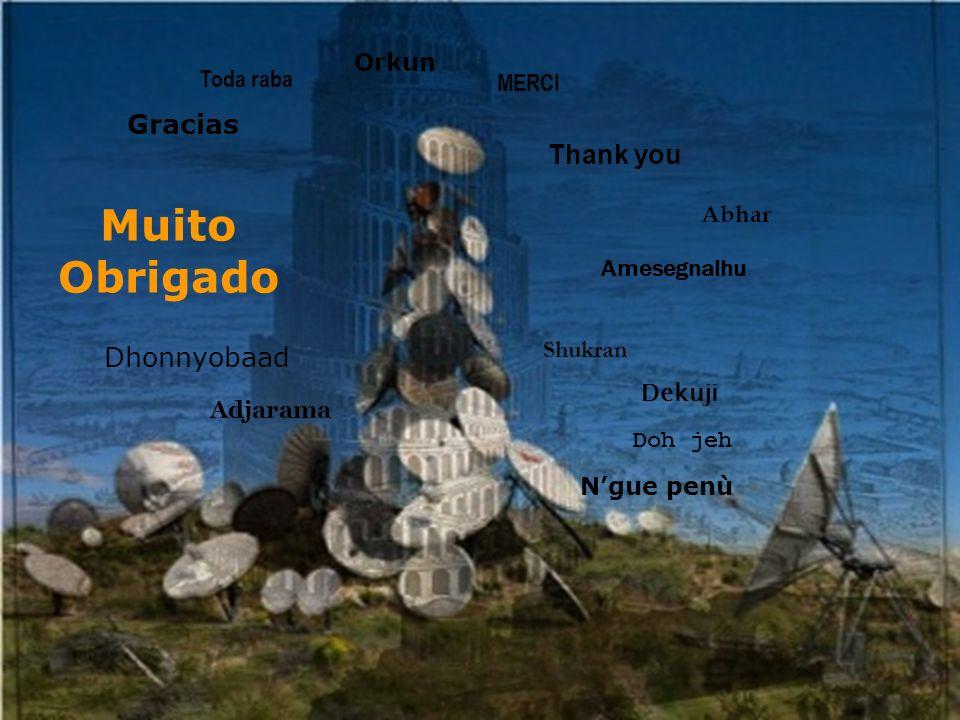 Muito Obrigado Gracias Thank you Dhonnyobaad Orkun Toda raba MERCI