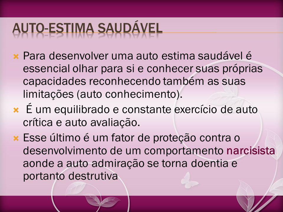 AUTO-ESTIMA SAUDÁVEL