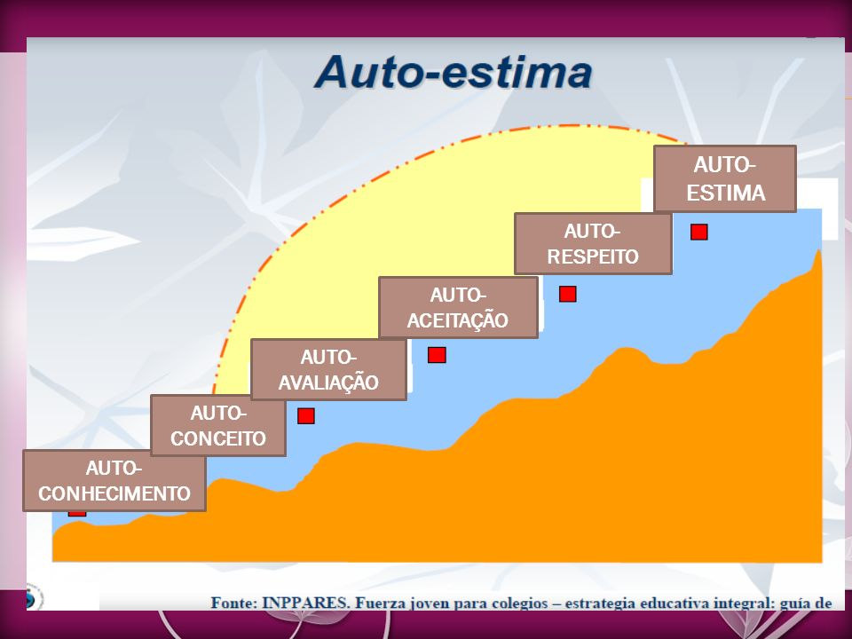 AUTO- ESTIMA AUTO-RESPEITO AUTO-ACEITAÇÃO AUTO-AVALIAÇÃO AUTO-CONCEITO