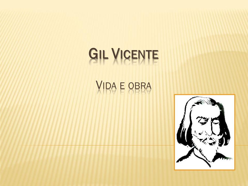 Gil Vicente Vida e obra