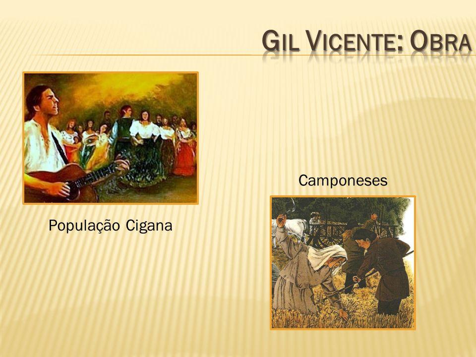 Gil Vicente: Obra Camponeses População Cigana