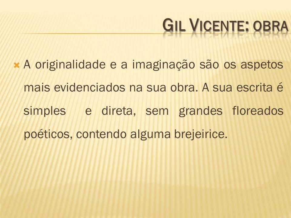 Gil Vicente: obra