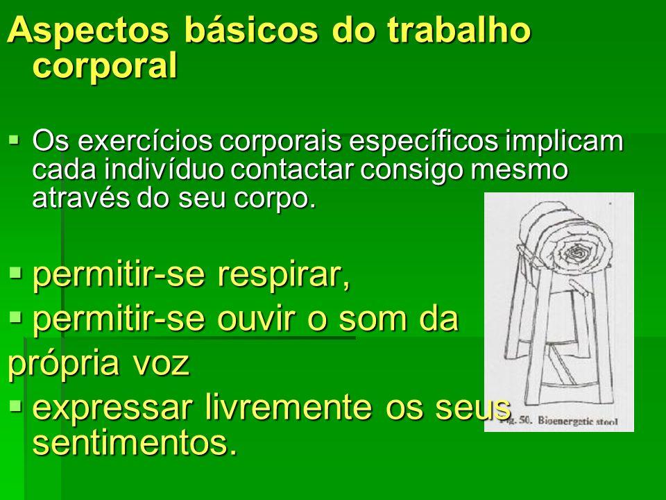 Aspectos básicos do trabalho corporal