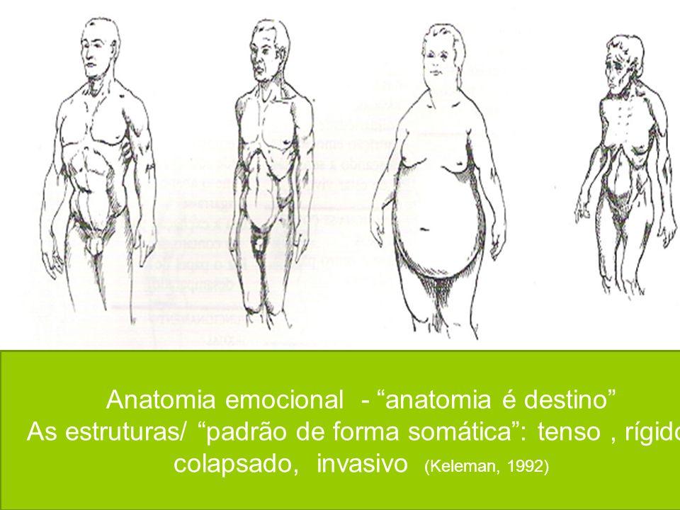 Anatomia emocional - anatomia é destino