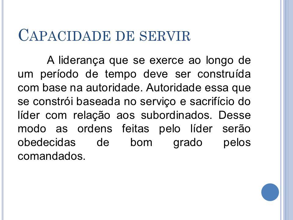 Capacidade de servir