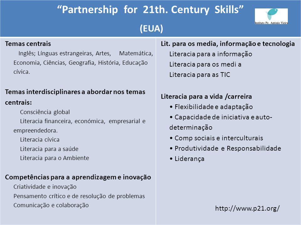 Partnership for 21th. Century Skills