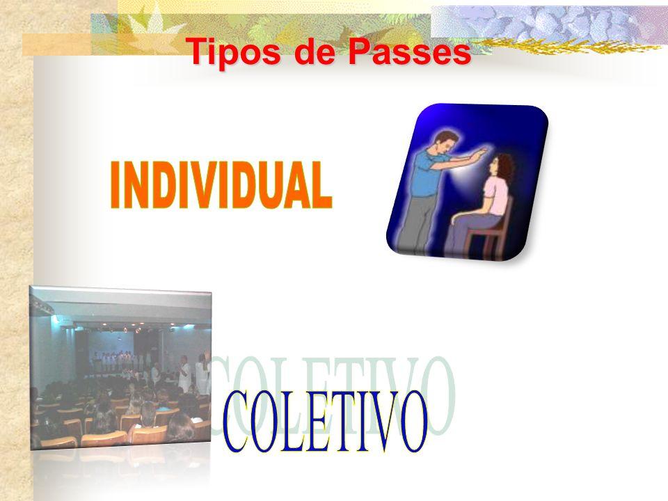 Tipos de Passes INDIVIDUAL COLETIVO