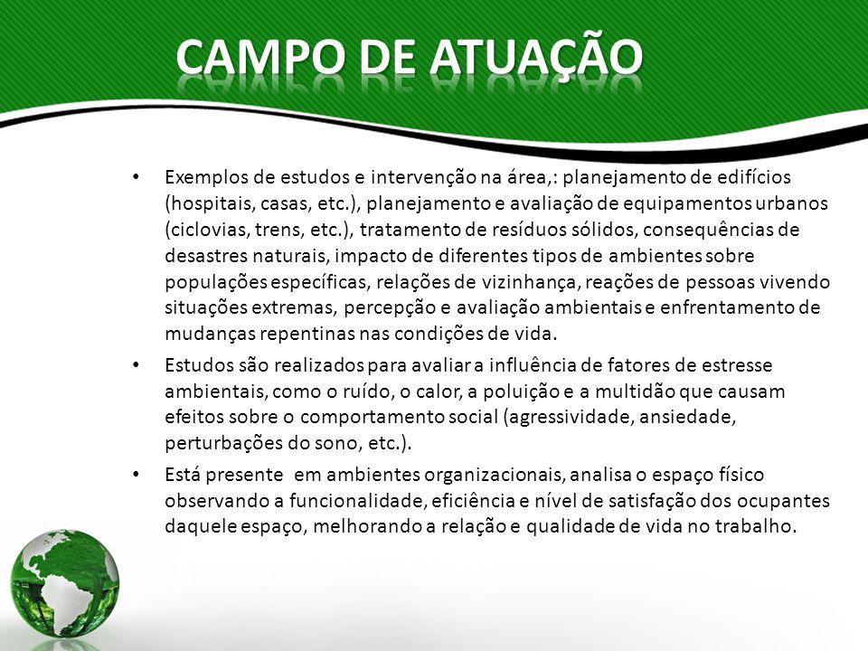CAMPO DE ATUAÇÃO