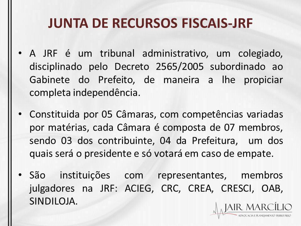 JUNTA DE RECURSOS FISCAIS-JRF