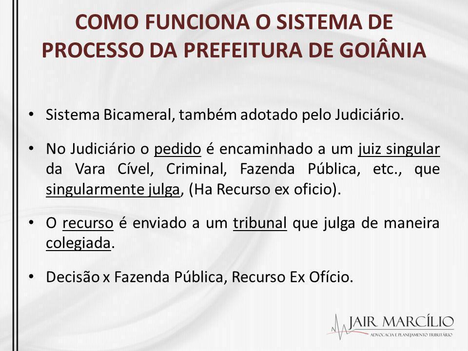 COMO FUNCIONA O SISTEMA DE PROCESSO DA PREFEITURA DE GOIÂNIA