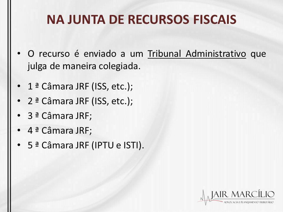 NA JUNTA DE RECURSOS FISCAIS