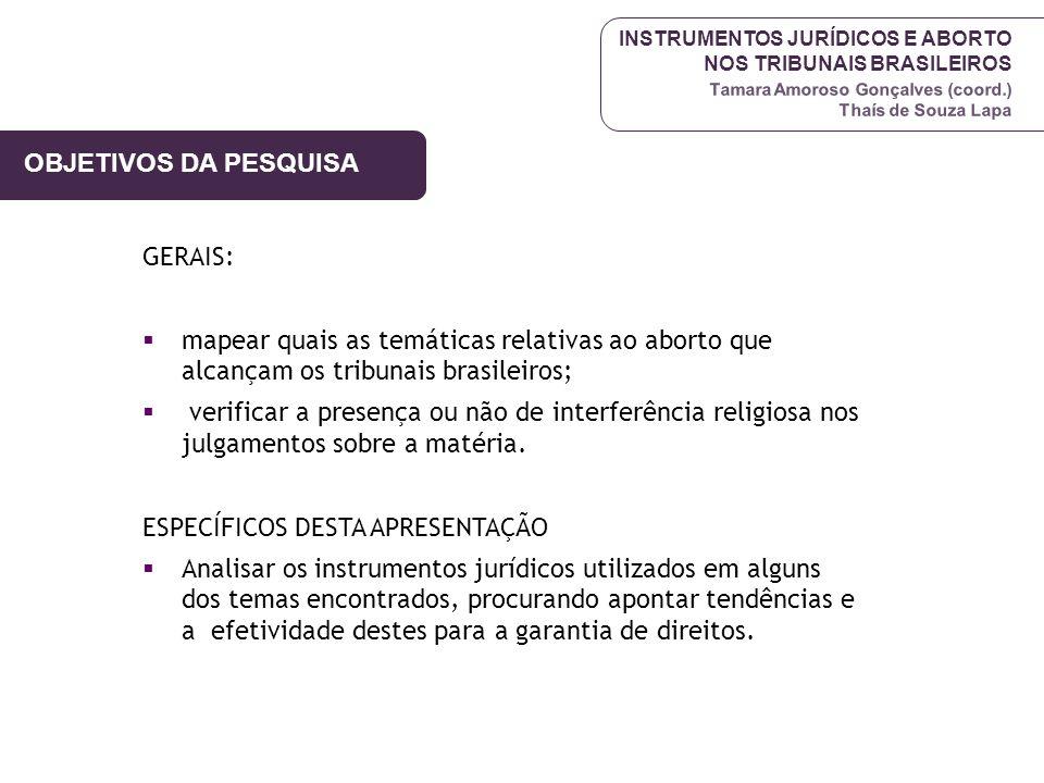 ESPECÍFICOS DESTA APRESENTAÇÃO