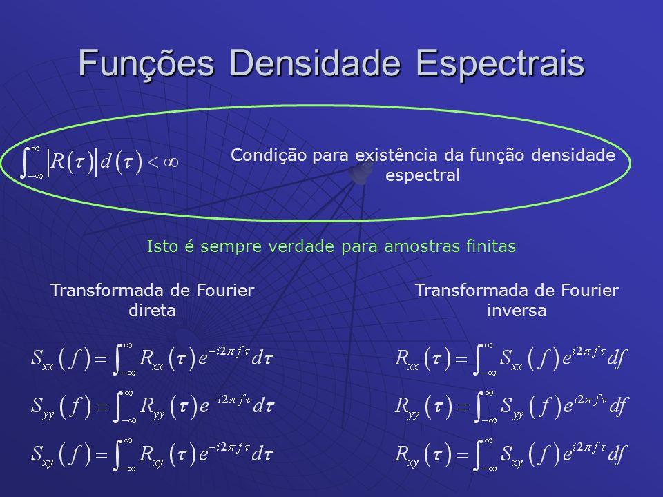 Funções Densidade Espectrais