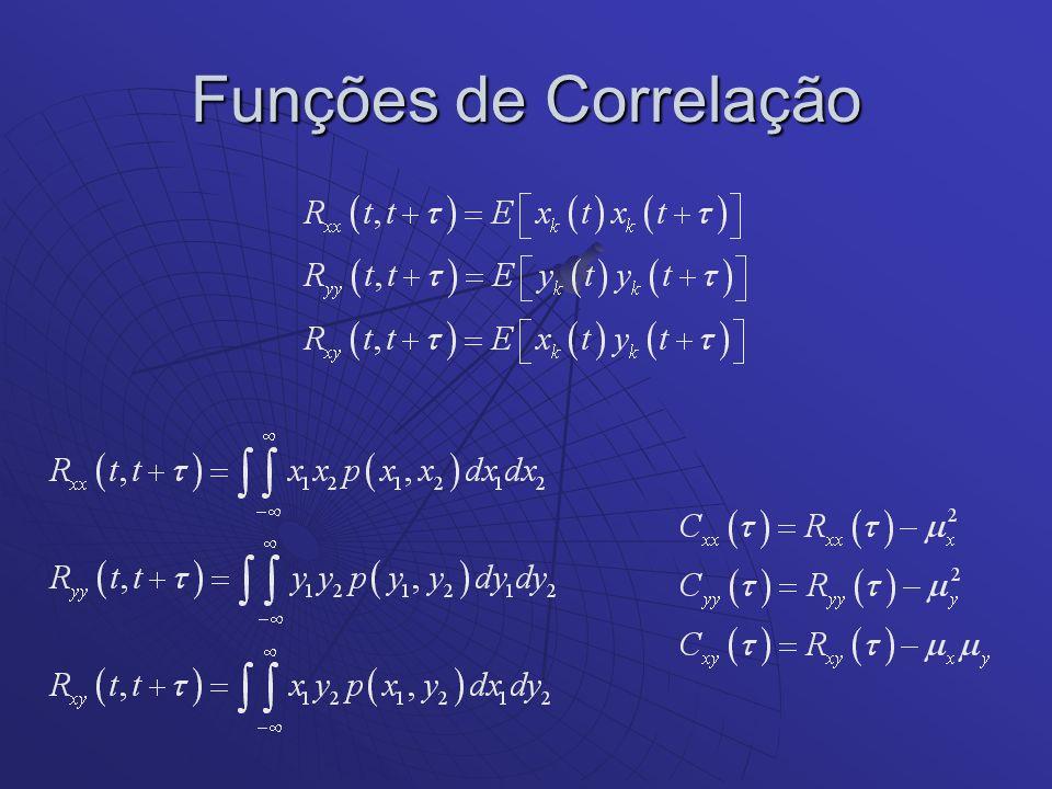 Funções de Correlação