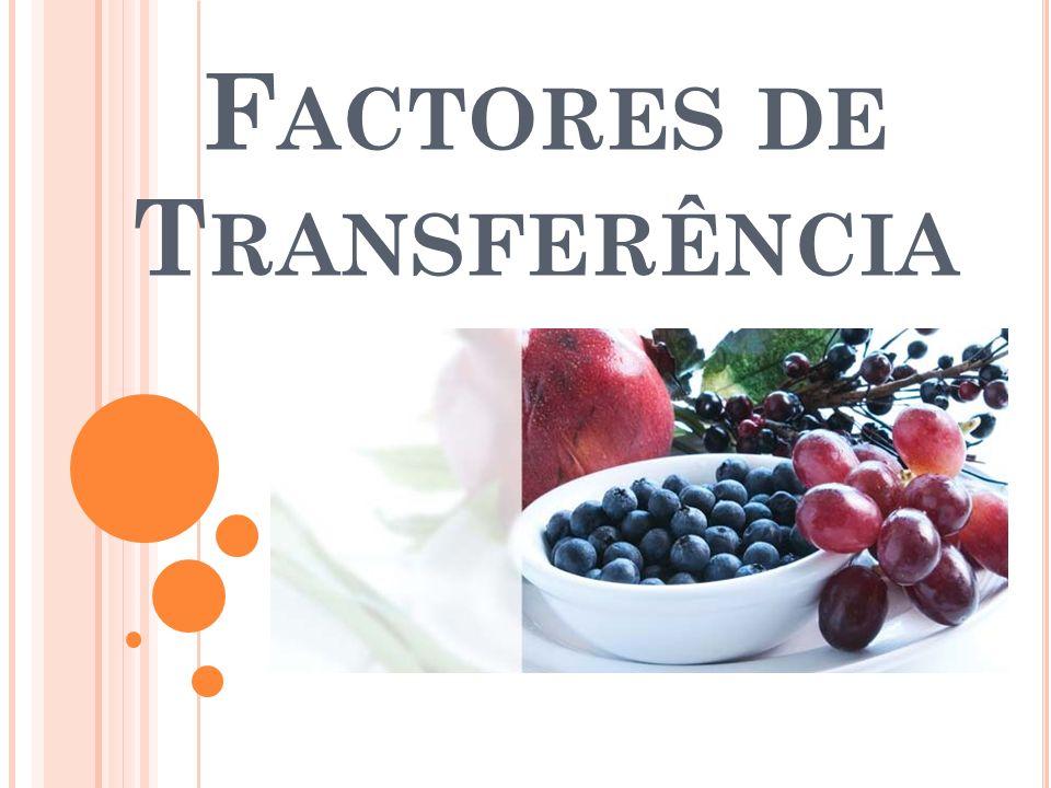 Factores de Transferência