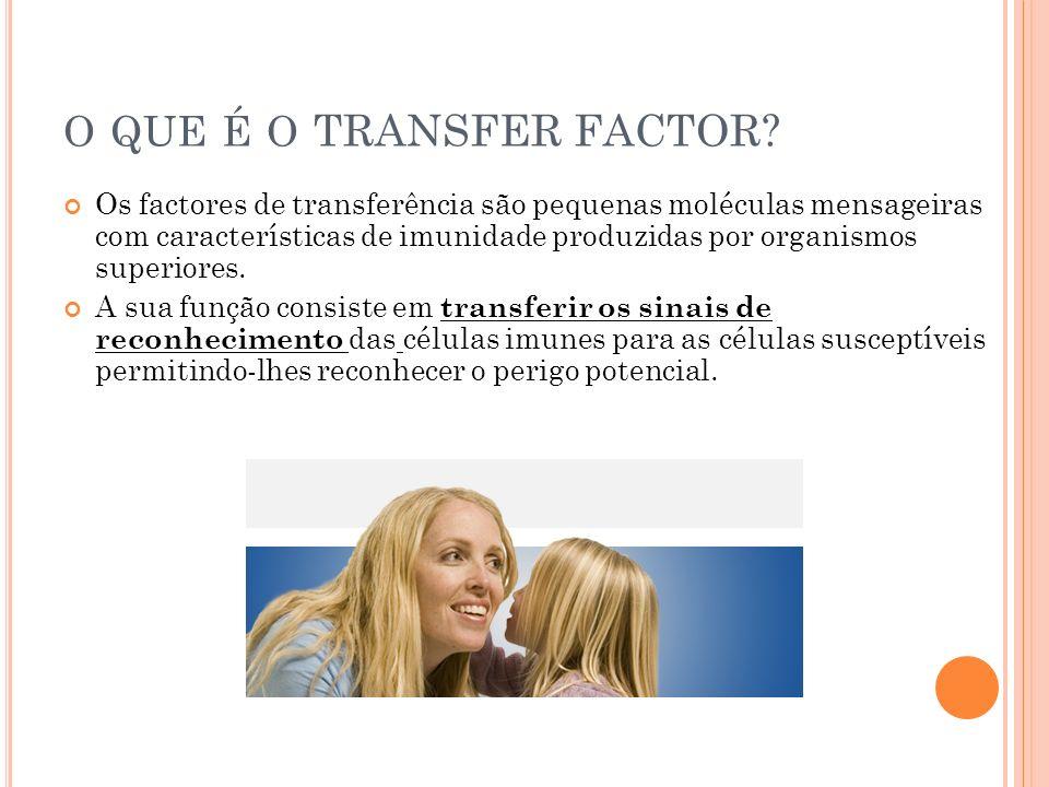 o que é o TRANSFER FACTOR