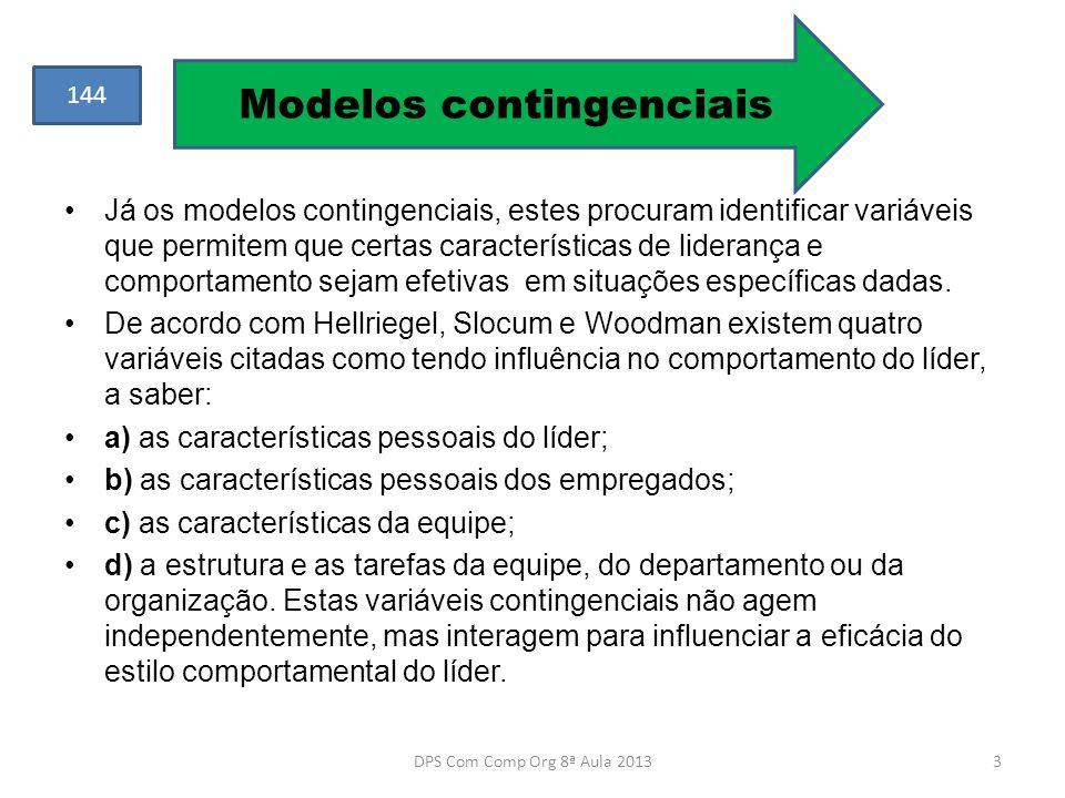 Modelos contingenciais