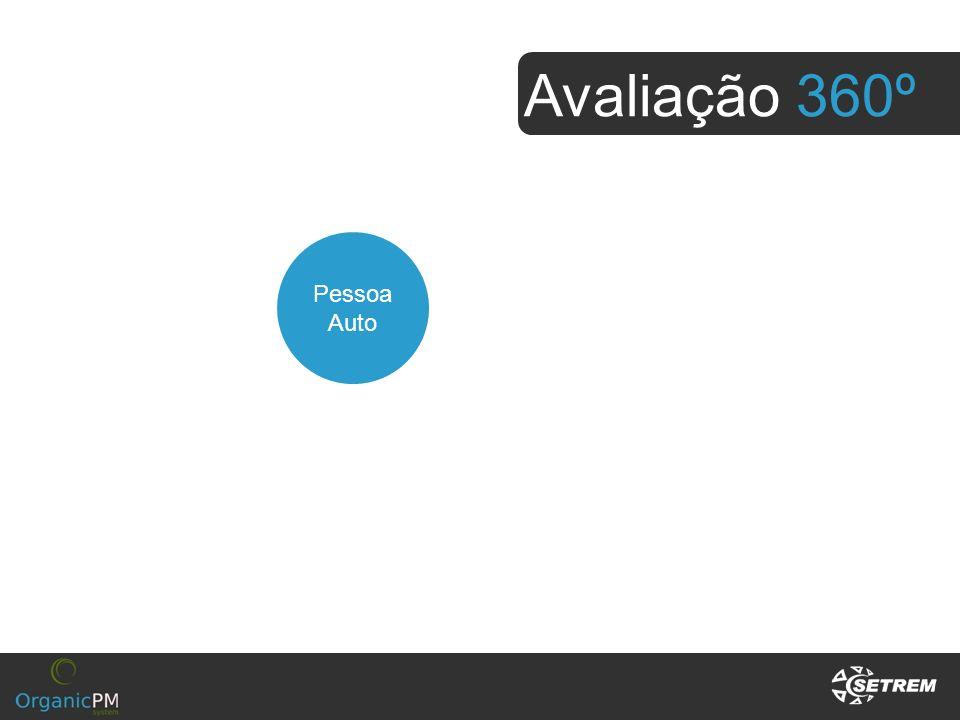 Avaliação 360º Superiores Pessoa Auto Subordinados