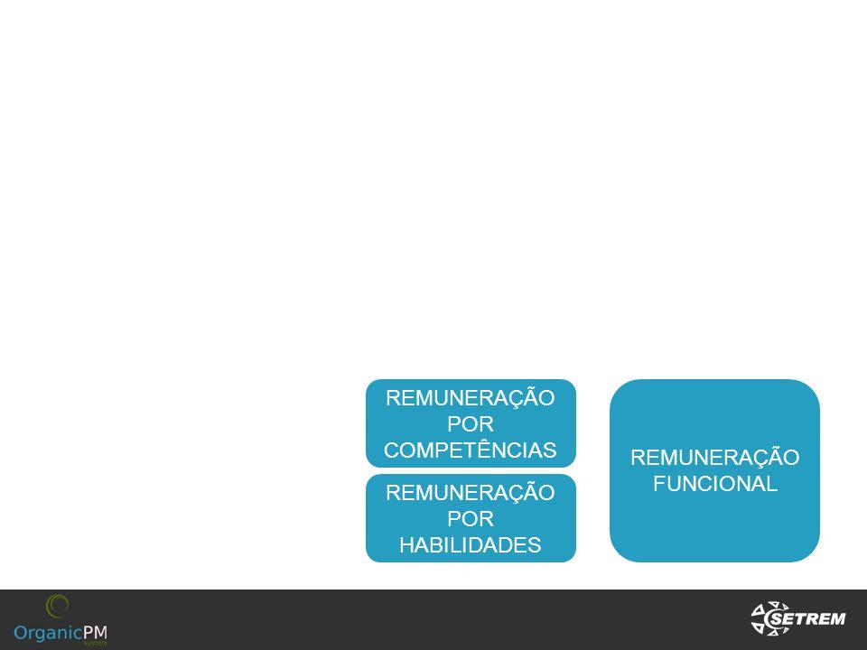 REMUNERAÇÃO POR COMPETÊNCIAS REMUNERAÇÃO FUNCIONAL