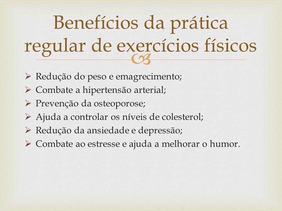 Benefícios da prática regular de exercícios físicos