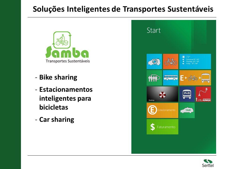 Soluções Inteligentes de Transportes Sustentáveis