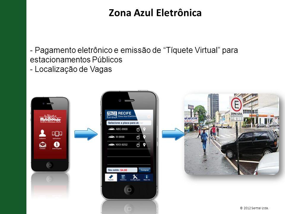Zona Azul Eletrônica - Pagamento eletrônico e emissão de Tíquete Virtual para estacionamentos Públicos.