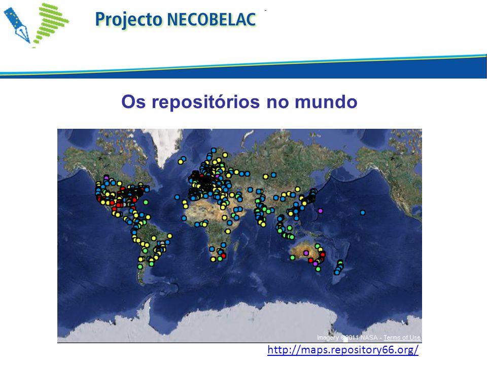 Os repositórios no mundo