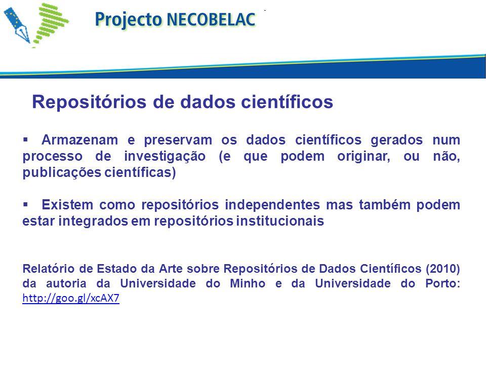 Repositórios de dados científicos