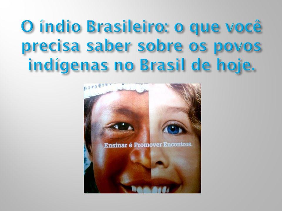 O índio Brasileiro: o que você precisa saber sobre os povos indígenas no Brasil de hoje.