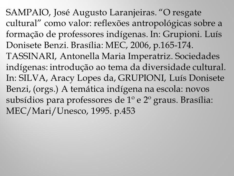 SAMPAIO, José Augusto Laranjeiras