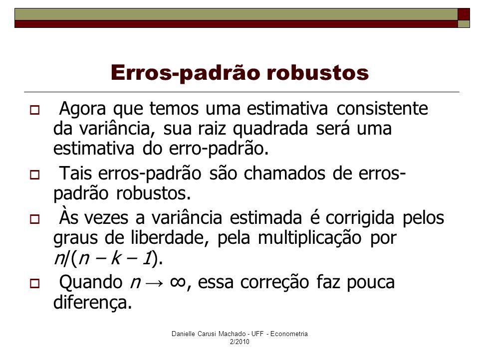 Erros-padrão robustos