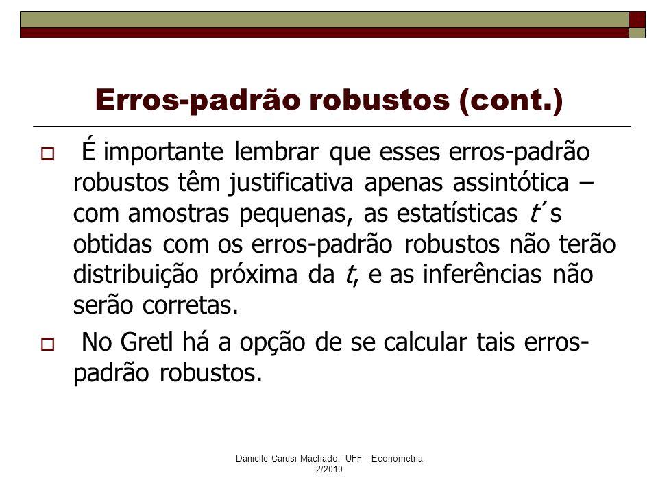 Erros-padrão robustos (cont.)