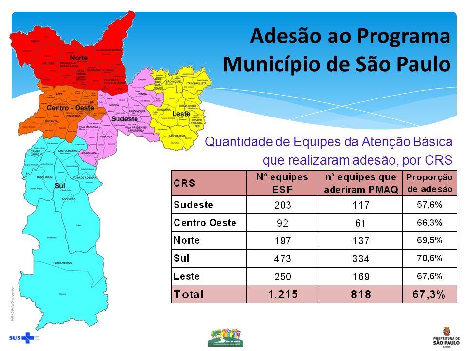 Adesão ao Programa Município de São Paulo