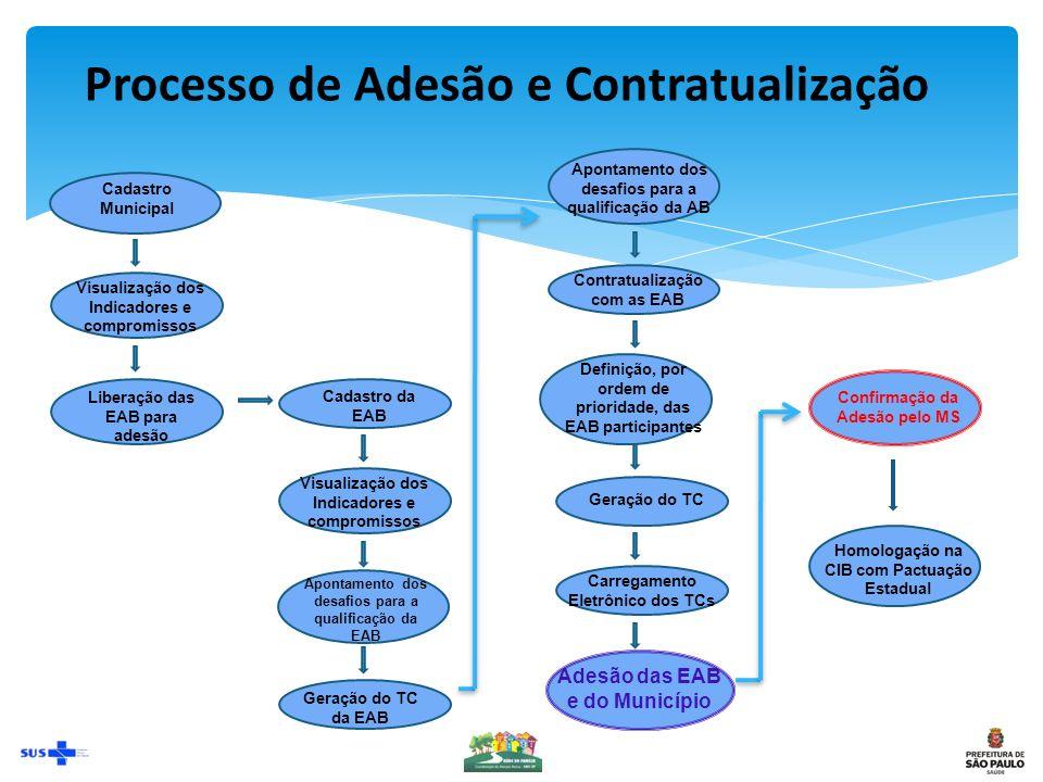 Processo de Adesão e Contratualização