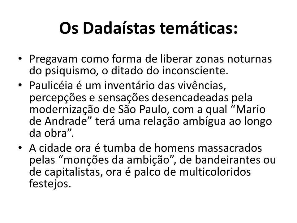 Os Dadaístas temáticas: