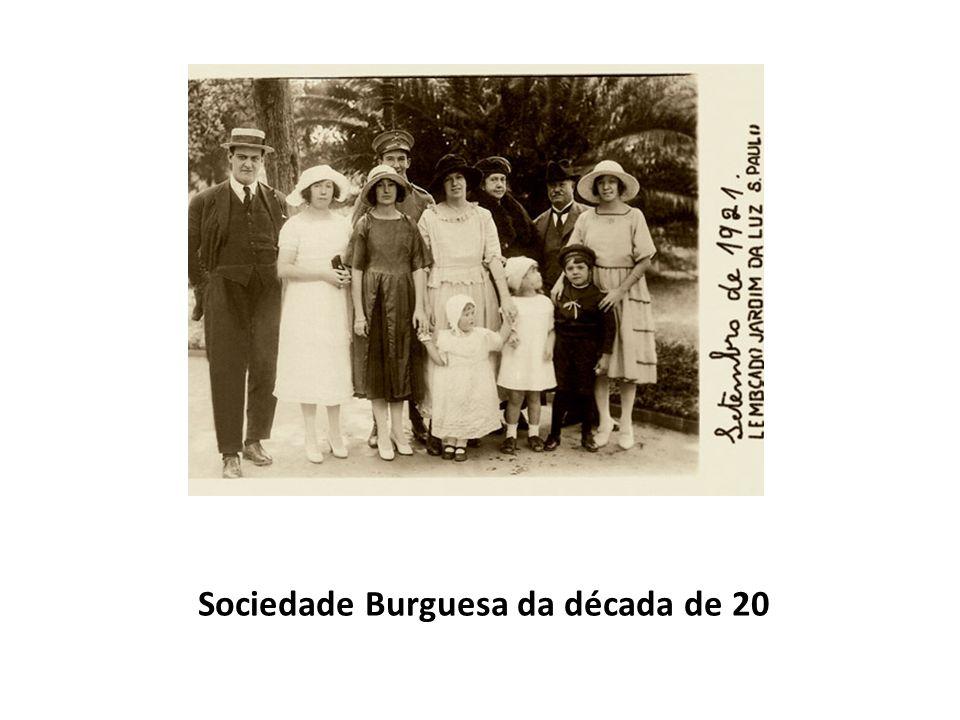 Sociedade Burguesa da década de 20