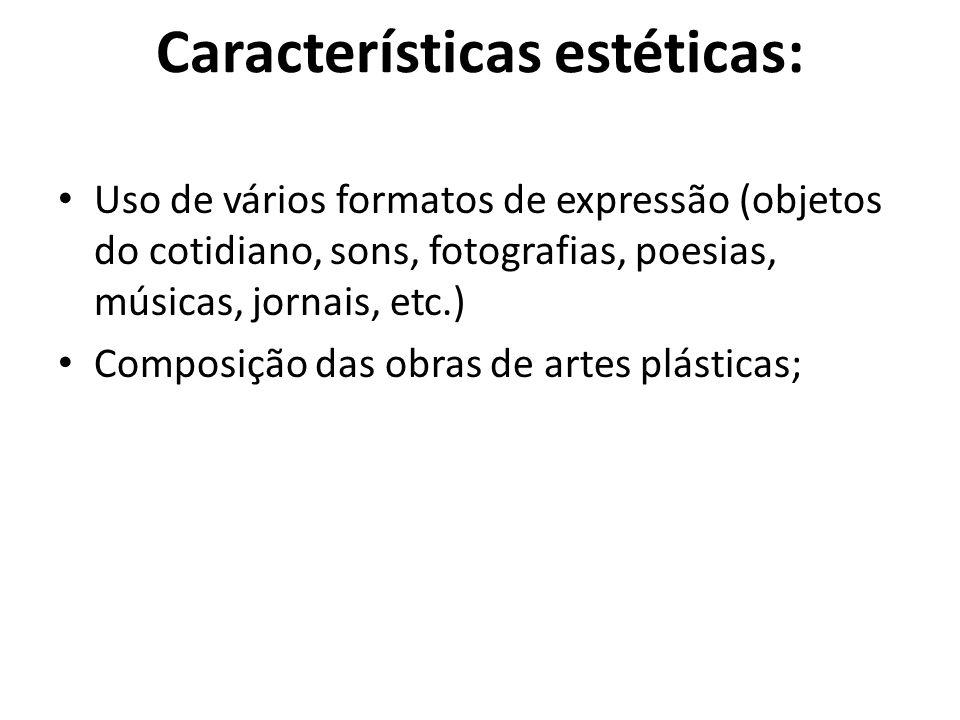 Características estéticas:
