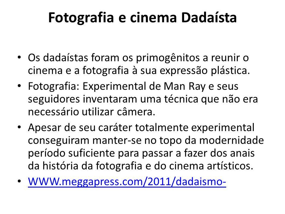 Fotografia e cinema Dadaísta