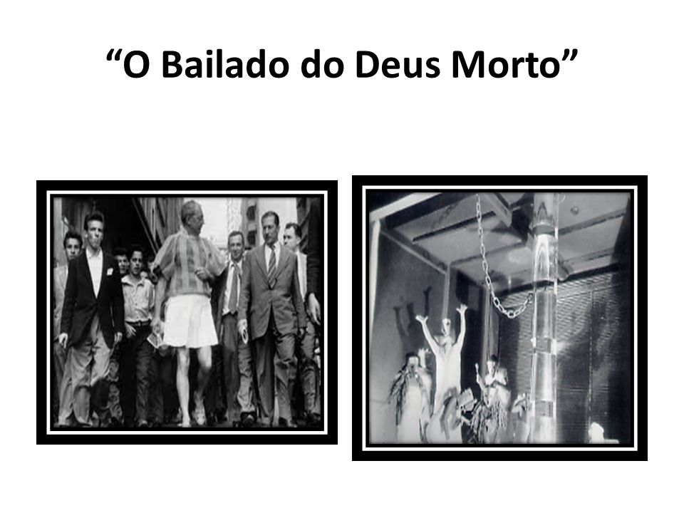 O Bailado do Deus Morto