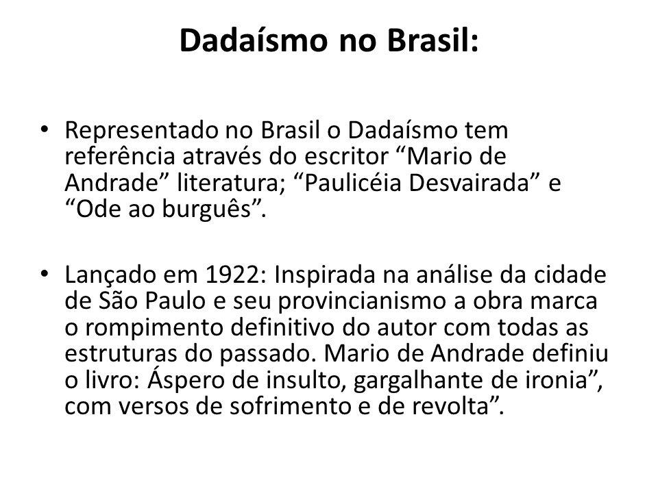 Dadaísmo no Brasil:
